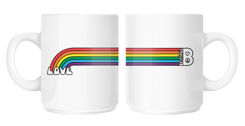 Bestival (Love Rainbow) Mug