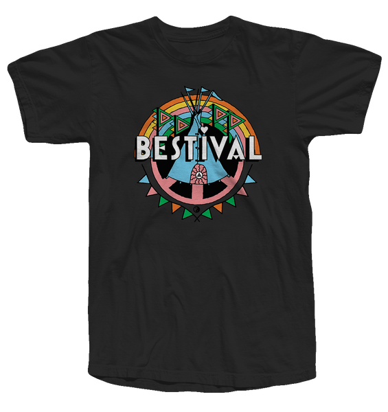 Bestival 2017 (Crest Event) Black T-Shirt