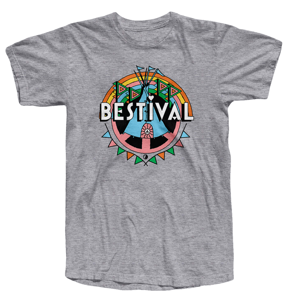 Bestival 2017 (Crest Event) Sports Grey T-Shirt