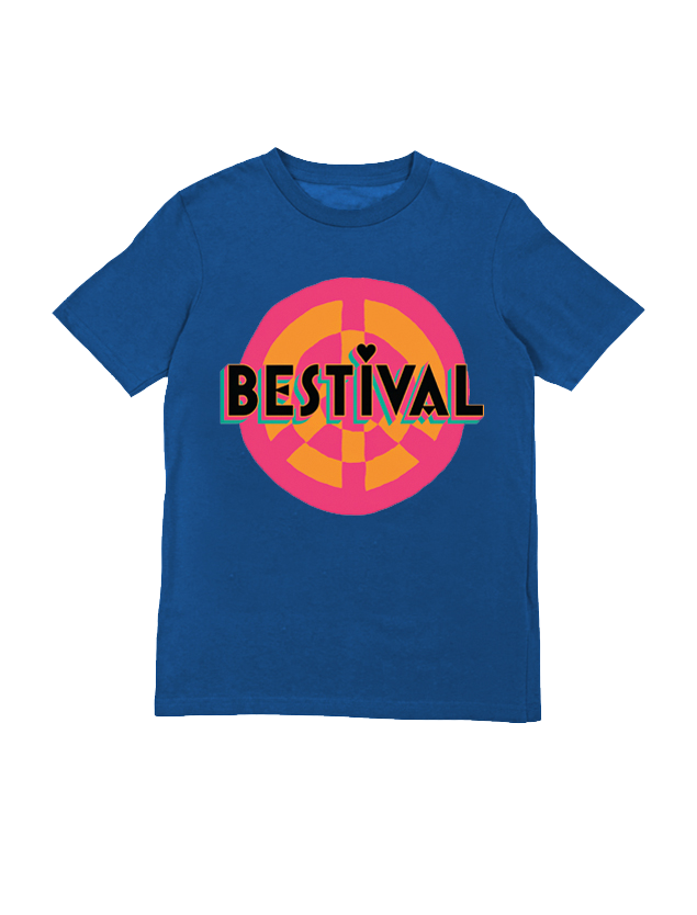 Bestival (Peace Sign Event) Royal Youth T-Shirt