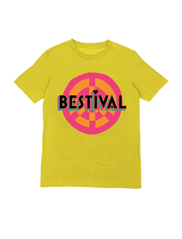 Bestival (Peace Sign Event) Daisy Youth T-Shirt