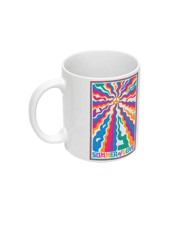 Bestival (Peace Waves) Mug