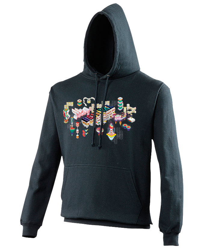 Bestival 2016 (Space Elements Event) Navy Hoodie