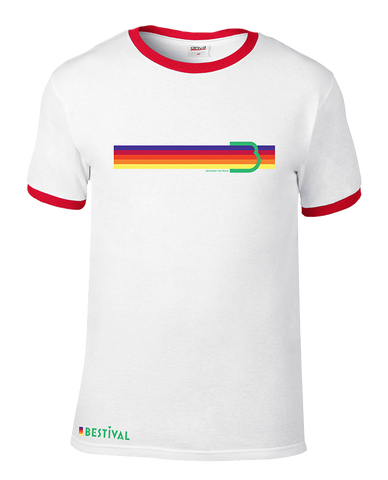 Bestival (Space Flag) Ringer T-Shirt