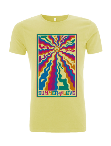 Bestival (Peace Waves) Cornsilk T-Shirt