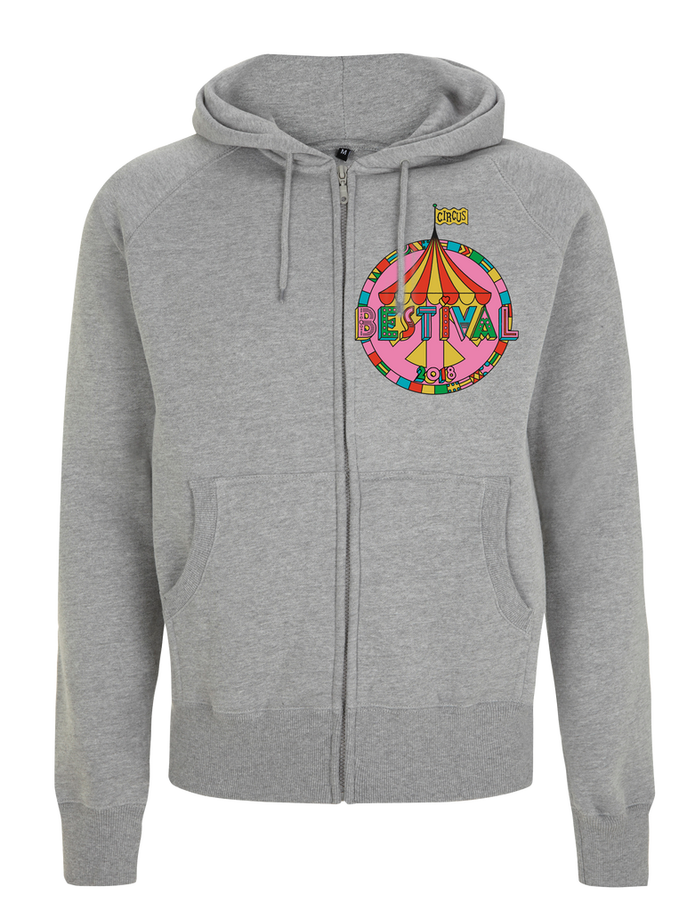 Bestival 2018 (Big Top Event) Grey Hoodie