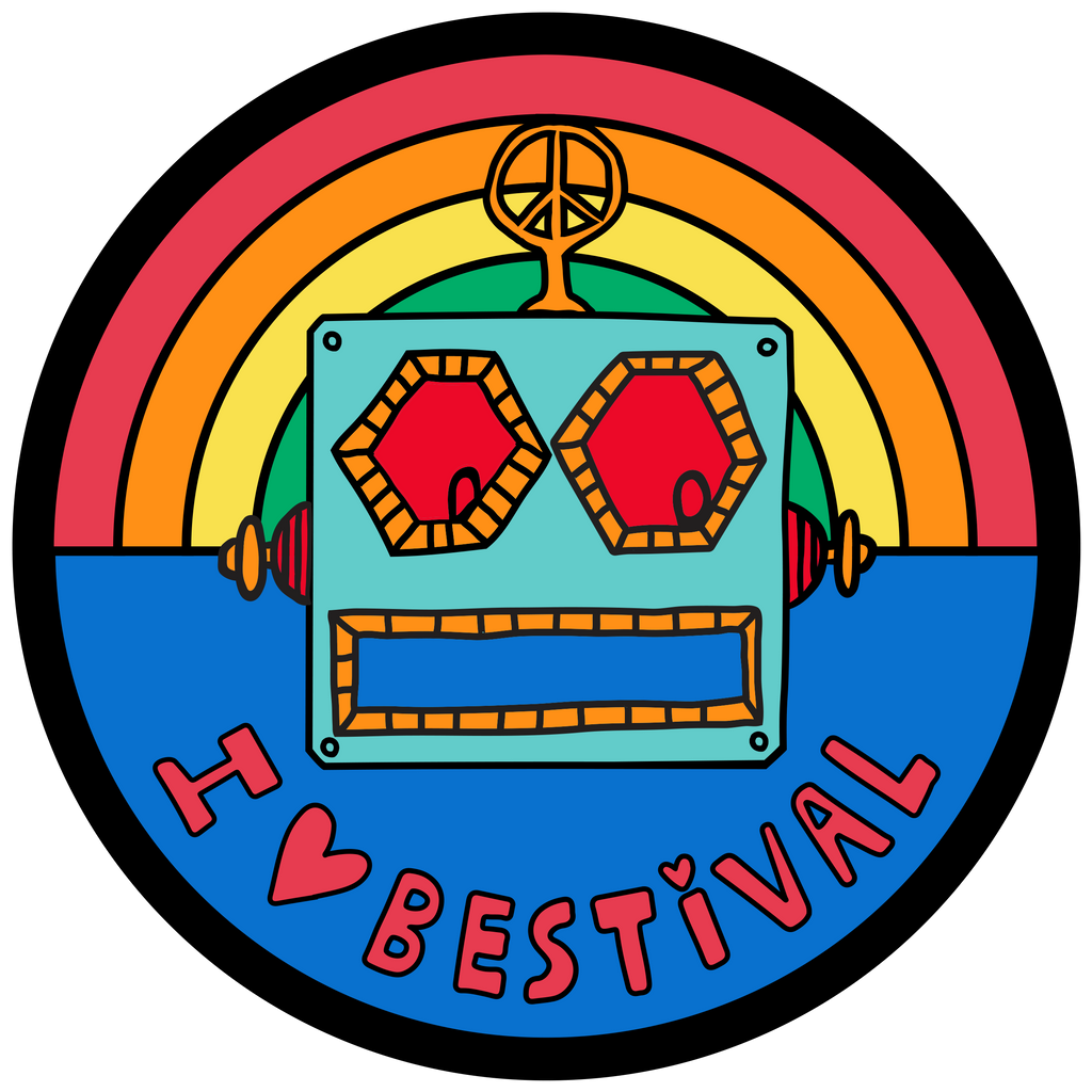 Bestival (Robot) Patch