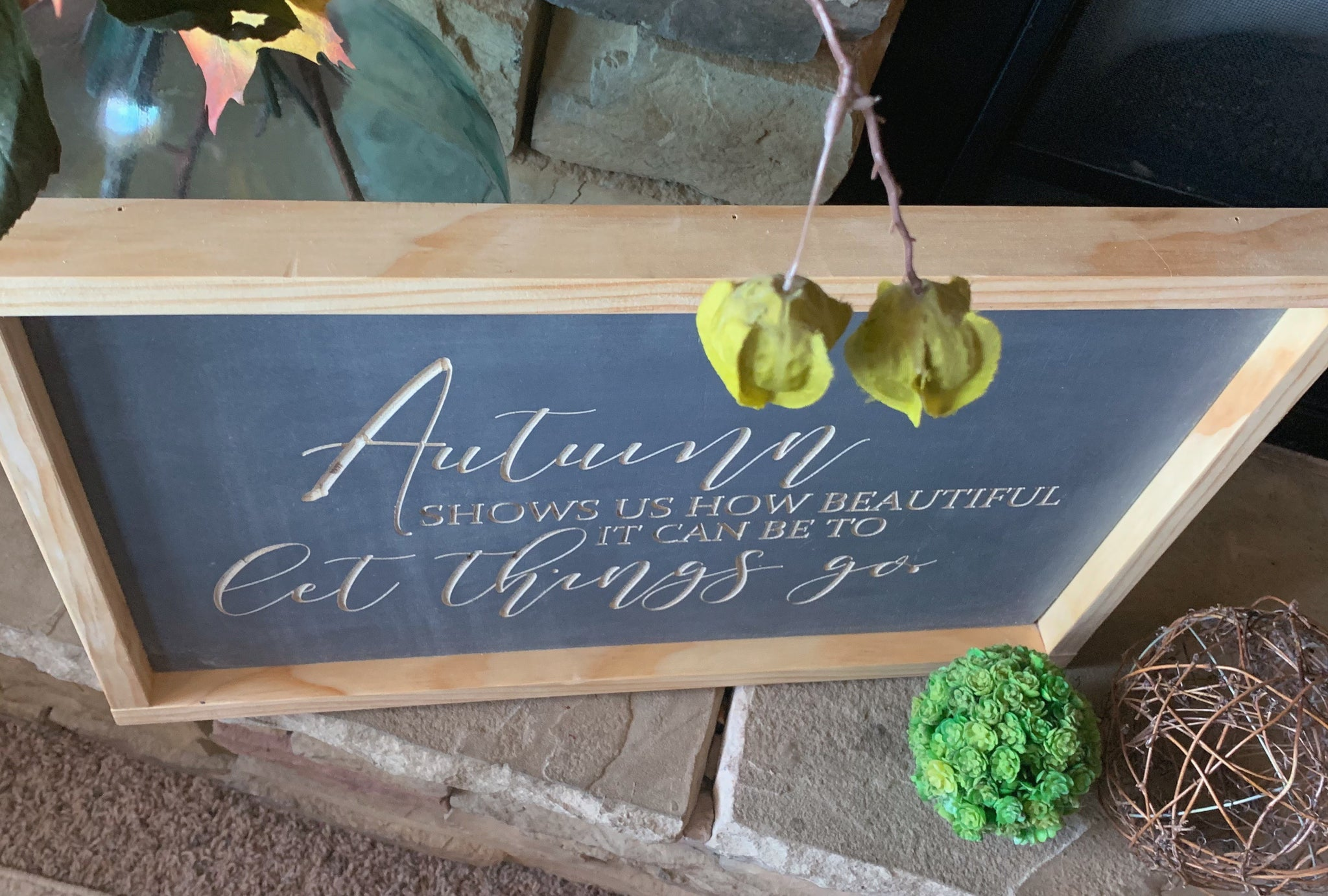 Autumn Wood Sign, Fall Wood Sign, Autumn Decor, Fall Decor, 3D Wood Sign, Wood Sign