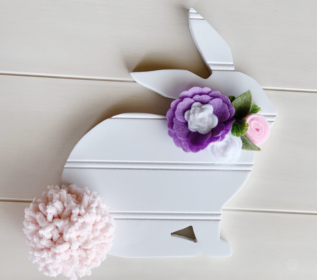 White Easter Bunny, Spring Decoration, Spring Decor, Easter Decor, Bunny