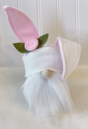 Easter Gnome, Bunny Gnome, Easter decorations, Spring Decorations, Gnome