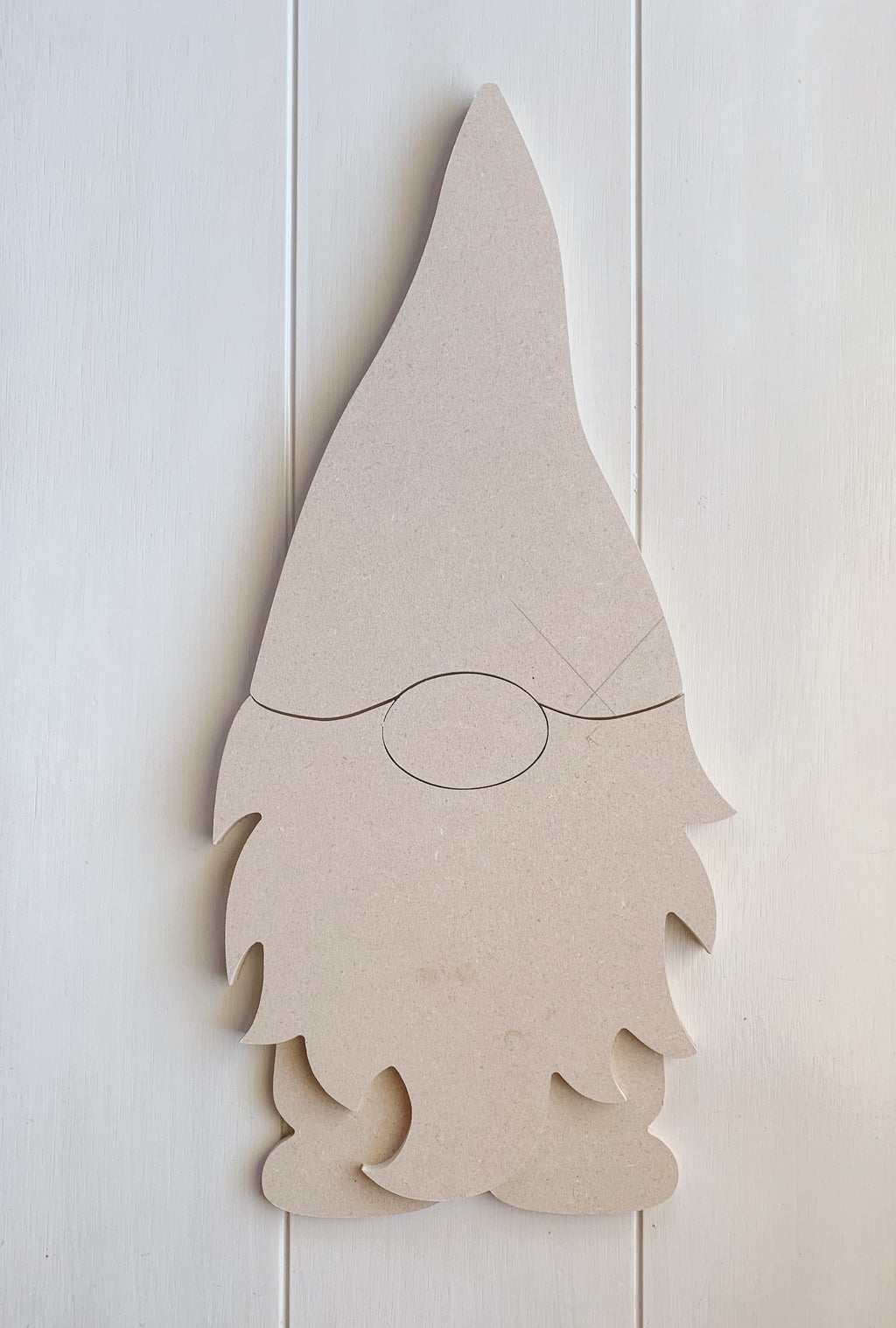 Gnome Cut Out, Wood Gnome, DIY Gnome Kit, Wood Cut Out, Woodland Gnome, Gnome