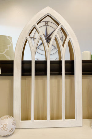 Gothic Window Frame, Window Frame, Decorative Window, Farmhouse Decor