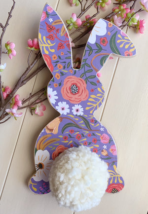 Patterned bunny, Easter  bunny, Spring bunny, Spring decoration, Easter Decoration