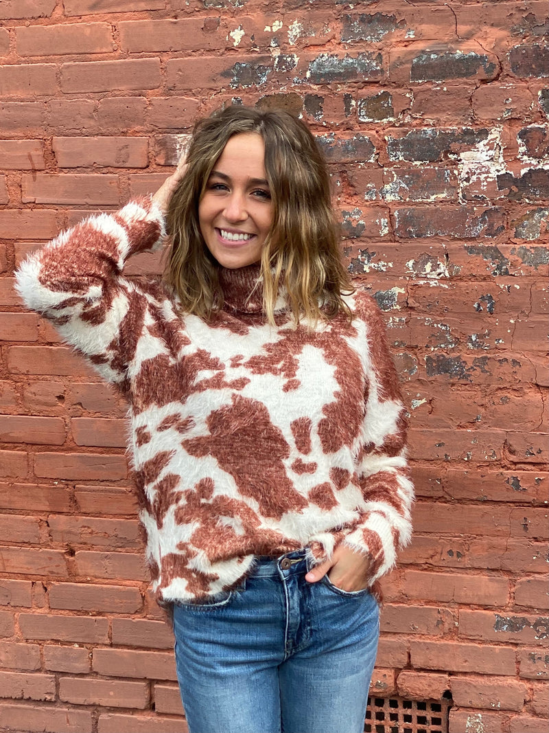 SHOW ME YOUR MUMU: FRANCES SWEATER-HOLY COW KNIT