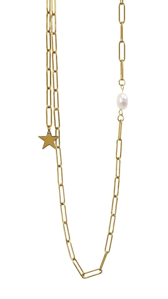 BRACHA: PHOEBE STAR NECKLACE