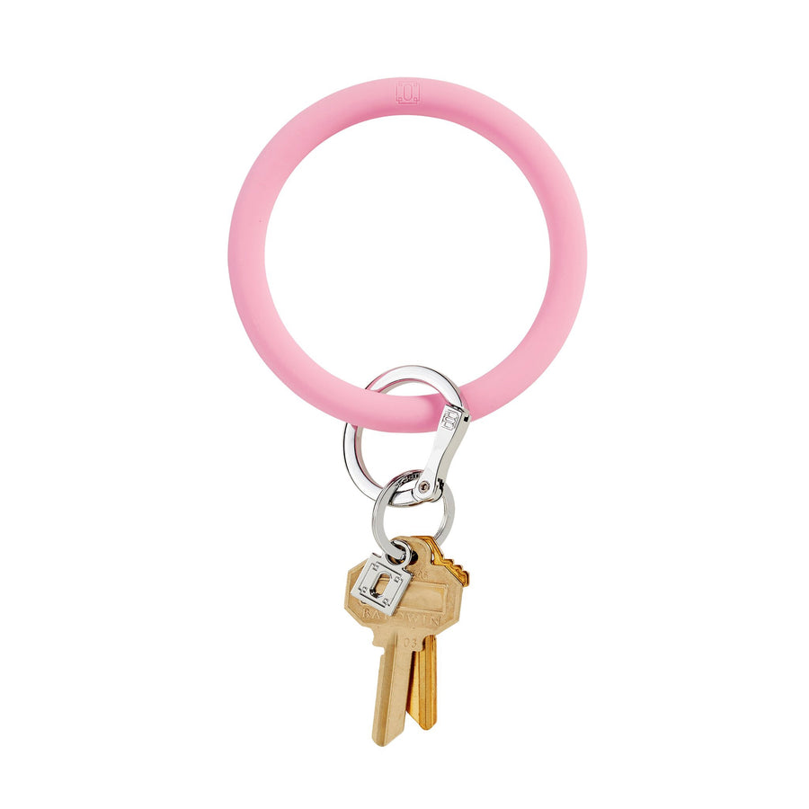O VENTURE: COTTON CANDY SILICONE BIG O KEYRING