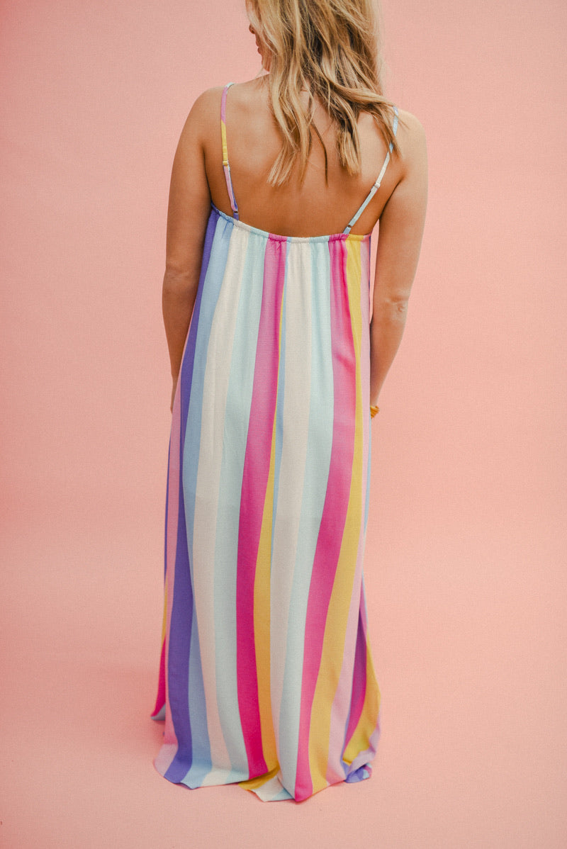BUDDY LOVE: MISHA MAXI DRESS-CARNIVAL