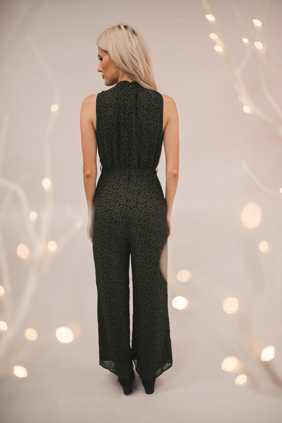 DREAMLOVER CHEETAH PRINT JUMPSUIT