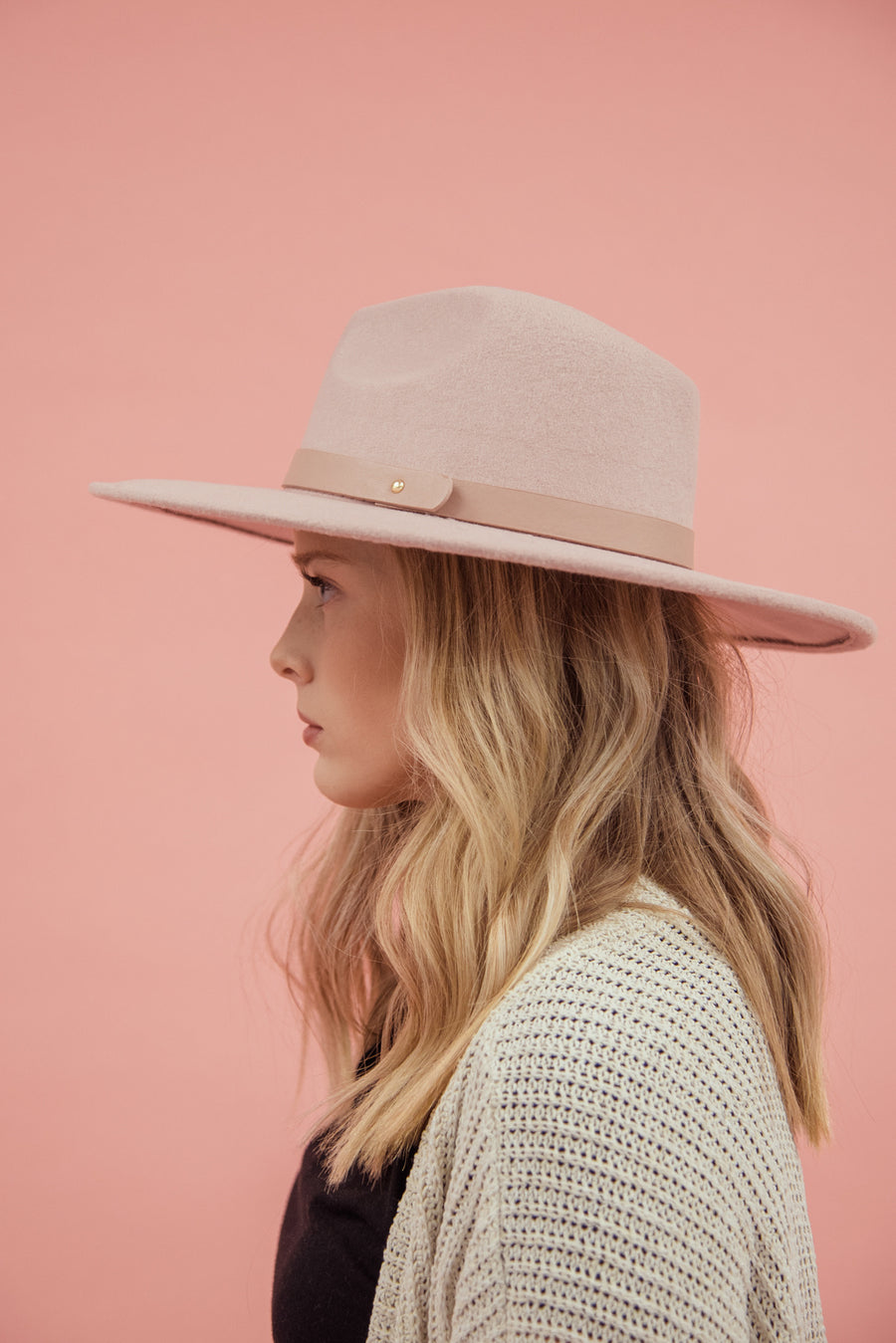 THE EVEREST FELT HAT-MAUVE