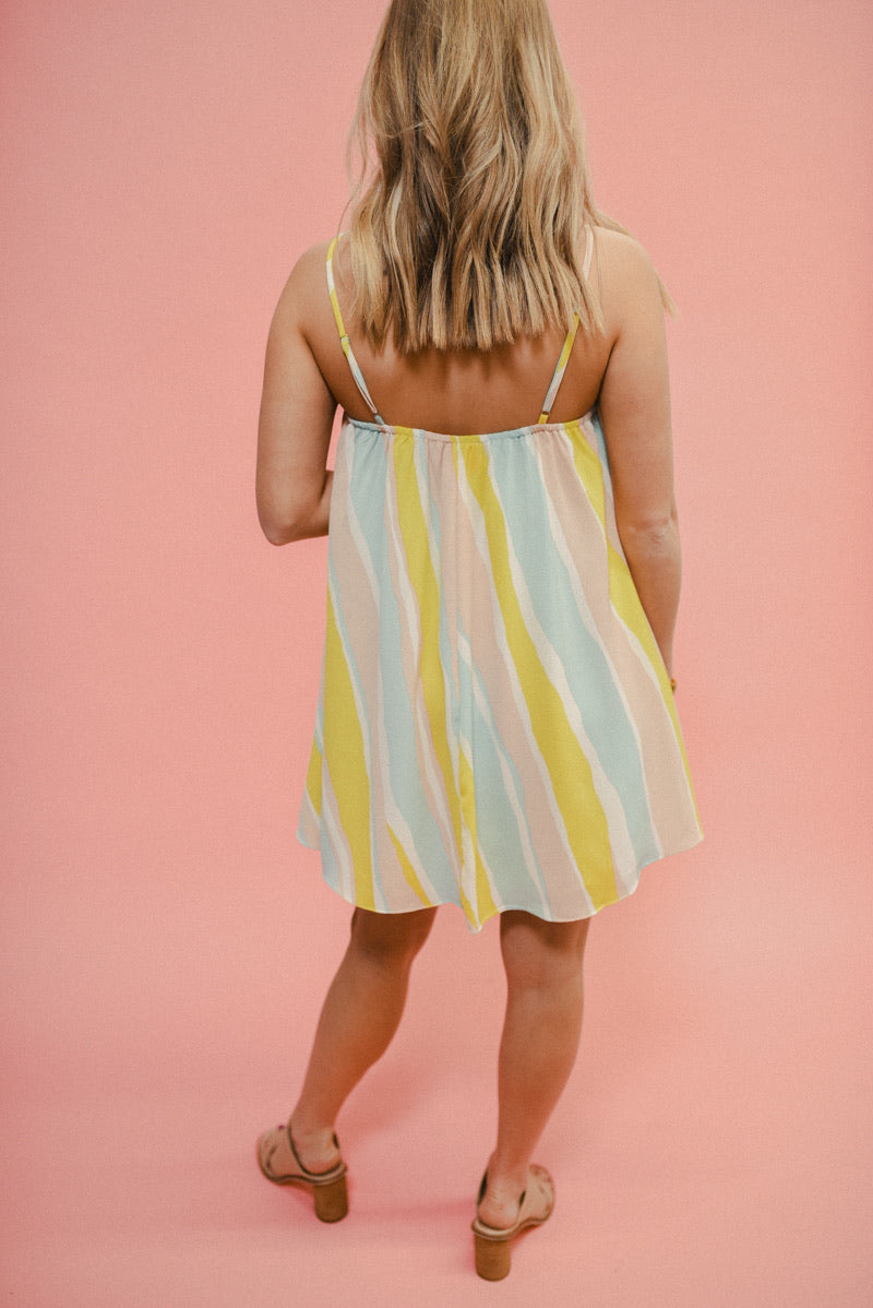 BUDDY LOVE: SANDRA DRESS-LEMONADE