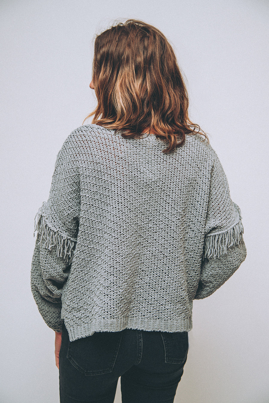 SALTWATER LUXE: HALF MOON SWEATER
