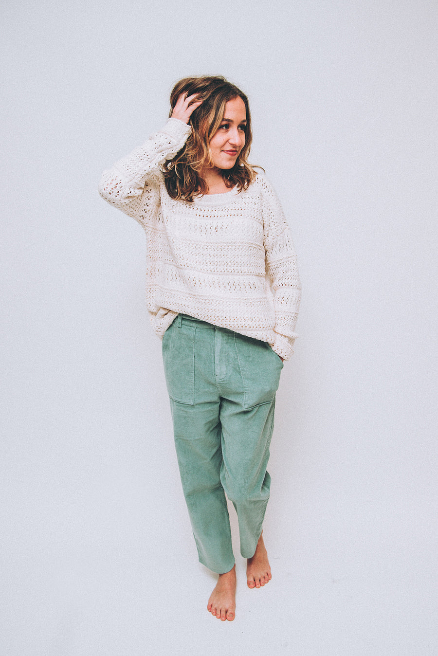 AMUSE SOCIETY: SUNDAY MORNING WOVEN PANT