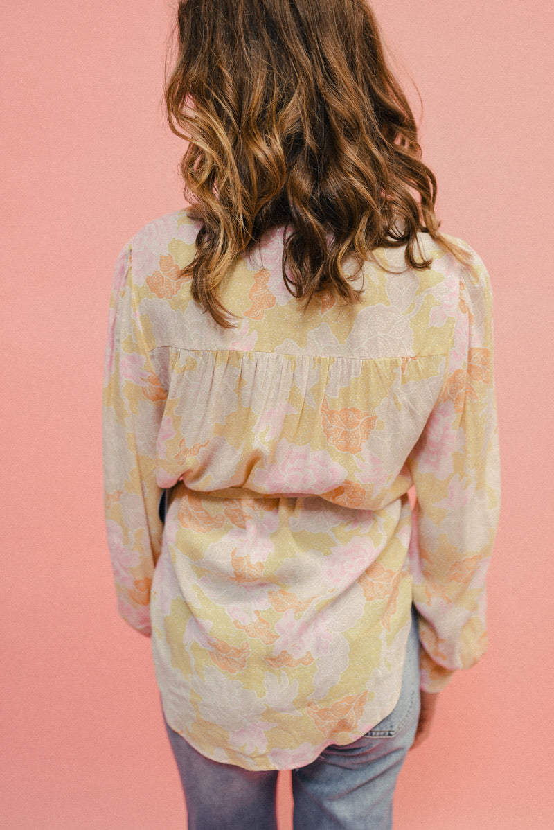 AMUSE SOCIETY: SHEANA WOVEN TOP