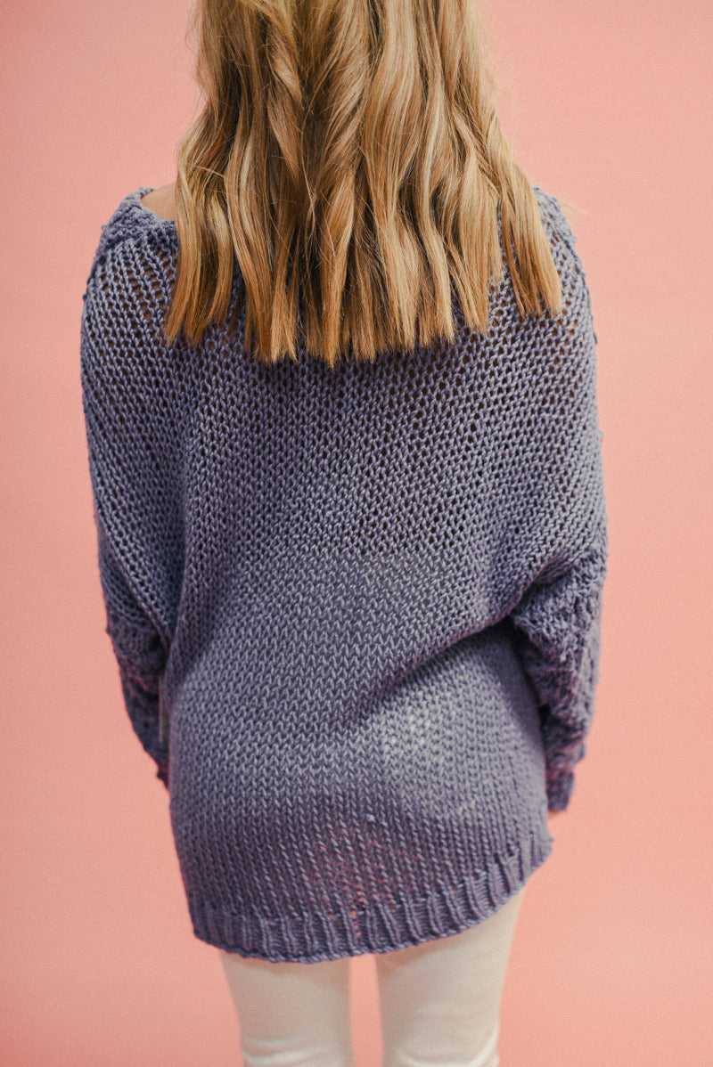 FREE PEOPLE: SUNDAY SHORE PULLOVER SWEATER