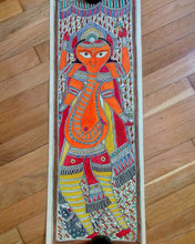 Mithila Ganesh painting on rice paper