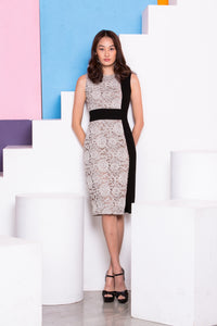 Maturity Lace Midi Dress