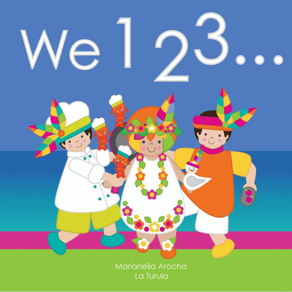 "Ilustrated Book ""We 123"""