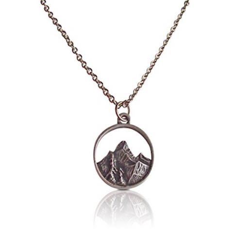 Mountain & Tree Necklaces