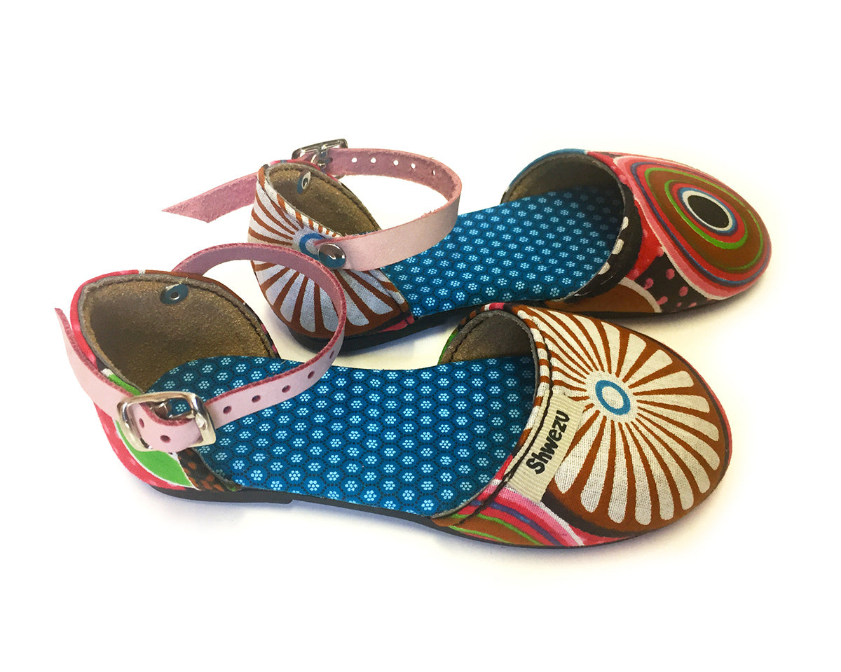 Baby Sandals Closed - Spiral fun