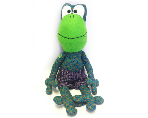 Shwezoo Frog - Green & Purple
