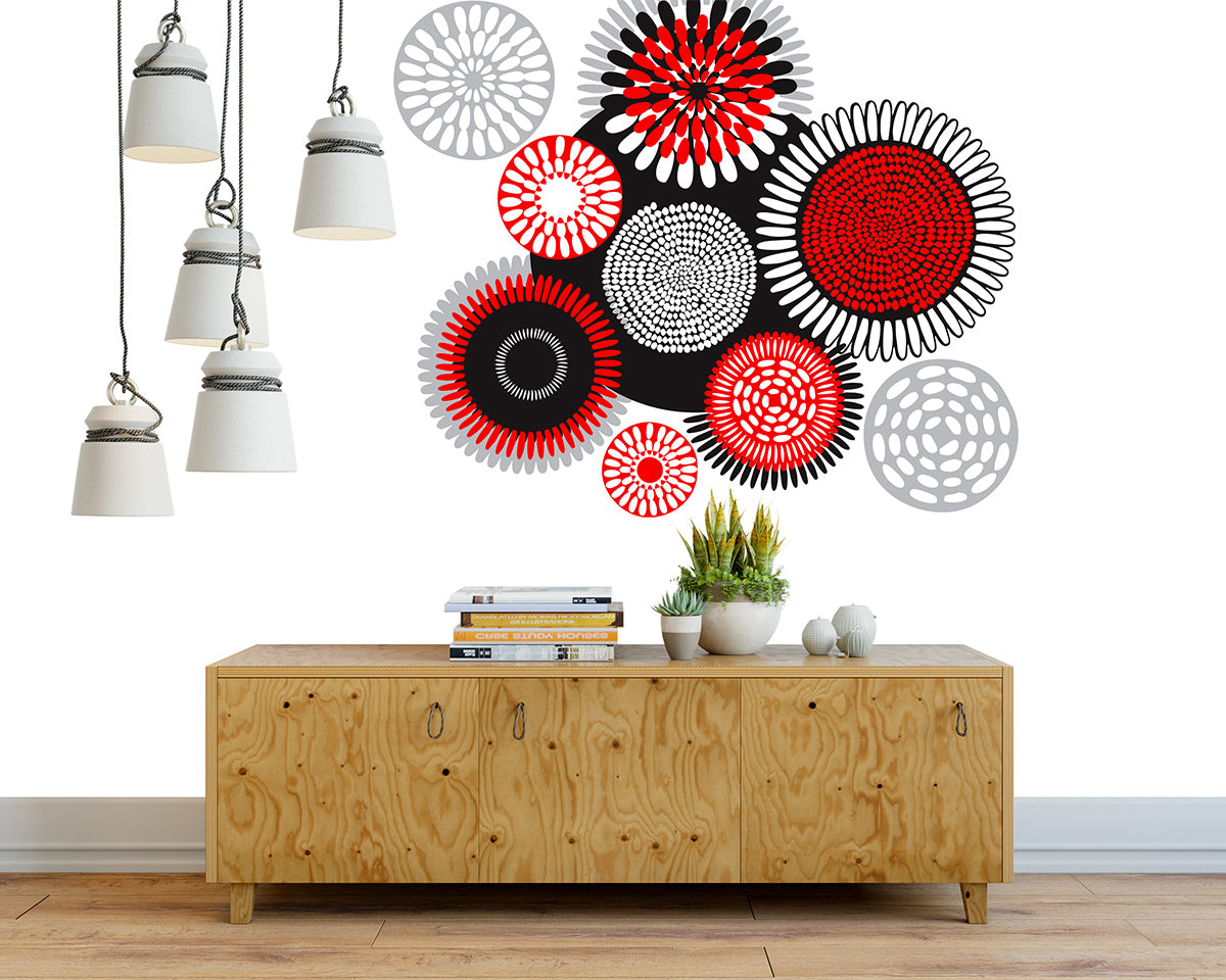Wall Decor African Circles Shwezu