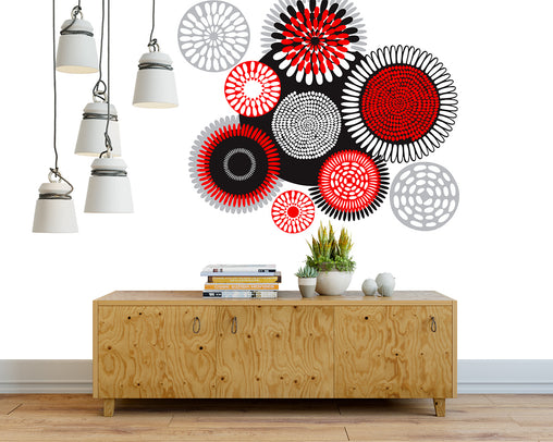 Wall Decor - African Circles