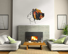 Wall Decor - Lady Africa