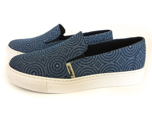Shweshwe Skaters - Ladies 4x4 - Navy