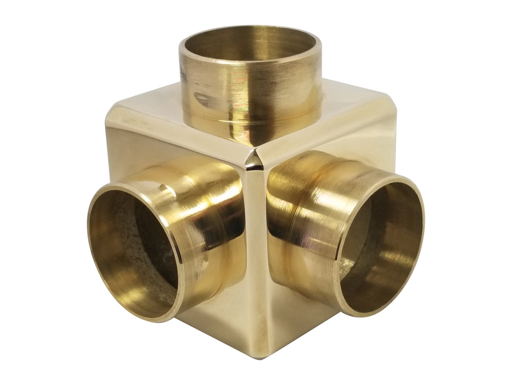 "Cubical Side Outlet Elbow for 2"" Tubing - SR231T - Cubicals, Components for 2"" Od Tubing - Trade Diversified"