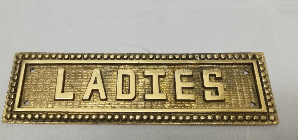"""LADIES"" Sign - AC983 - Hospitality Fixtures - Trade Diversified"