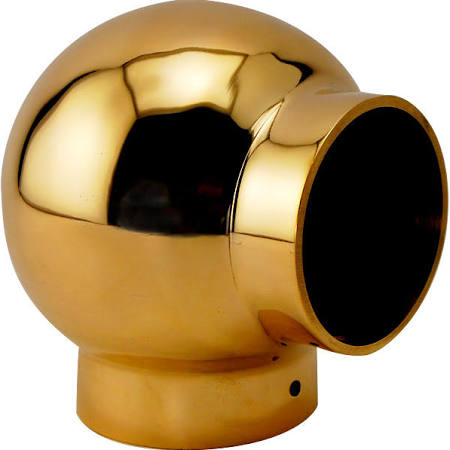 "Ball Elbow for 1-1/2"" Tubing - BF721A - Ball Fittings, Components for 1- 1/2"" Od Tubing - Trade Diversified"