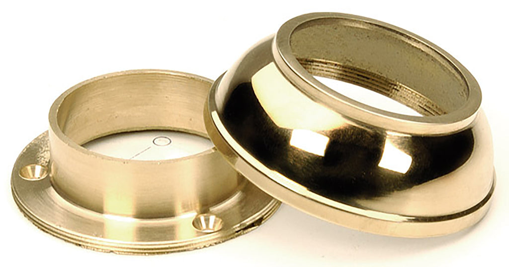 "Domed Cover Flange For 1-1/2"" Tubing - FA411A - Flanges and Anchors, Components for 1-1/2"" Od Tubing - Trade Diversified"
