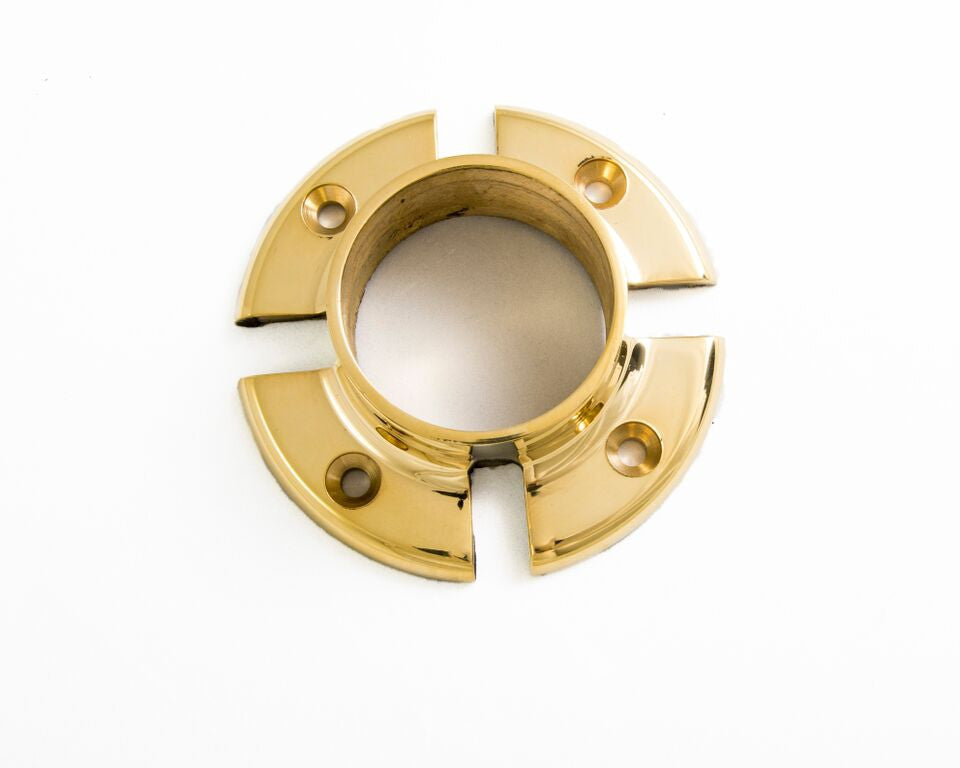 "Cross-Notched Flange for 2"" Tubing - FA426T-4 - Flanges and Anchors, Components for 2"" Od Tubing - Trade Diversified"