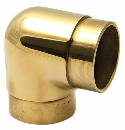 "Flush Elbow for 3"" Dia. Tubing - FF121C - FLUSH FITTING,COMPONENTS FOR 3"" OD TUBING - Trade Diversified"