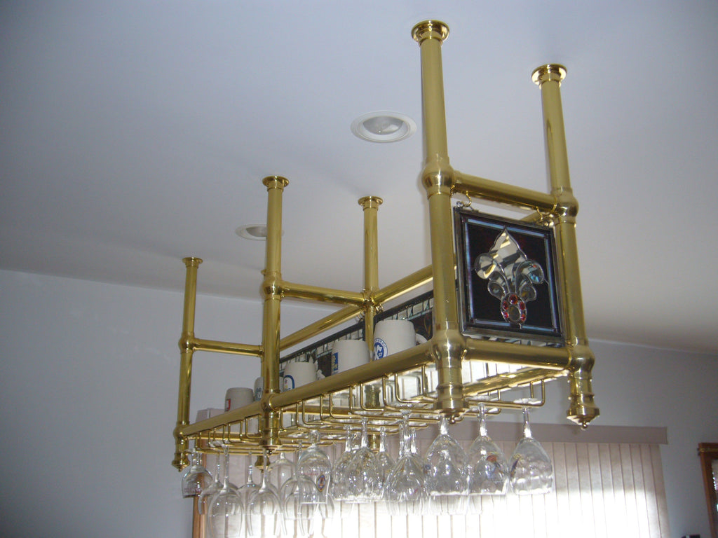 Ceiling-Mount Glass Rack- 2 - Portfolio - Trade Diversified