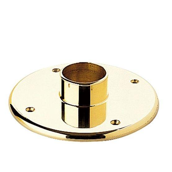 "Heavy Duty Floor Flange for 2"" Tubing - FA424T - FLANGES AND ANCHORS,COMPONENTS FOR 2"" OD TUBING - Trade Diversified"
