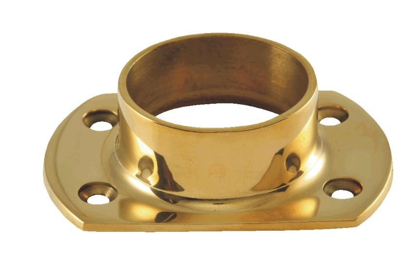 "Narrow Flange for 2"" Tubing - FA425T - FLANGES AND ANCHORS,COMPONENTS FOR 2"" OD TUBING - Trade Diversified"