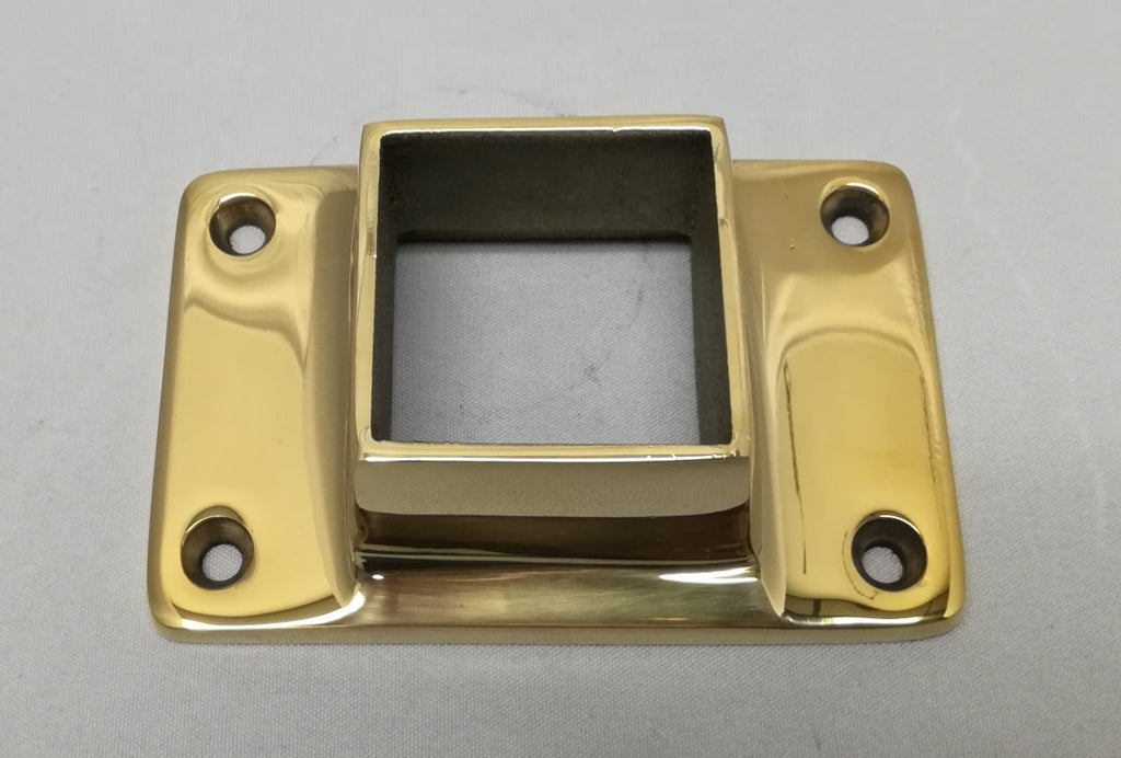 "SS325T Narrow Flange for 2"" Square Tubing - Flanges and Anchors, Square for Square Tubing - Trade Diversified"