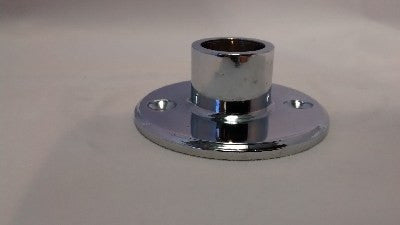 "Chrome Plated Flange for 5/8"" Tubing - FA422-5/8-C - Flanges and Anchors, Components for 5/8"" Od Tubing - Trade Diversified"