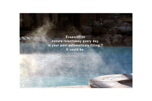 Pool water evaporation Staypoollizer